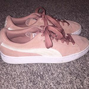 Puma Suede Pink Shoes